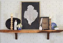 create: shelves & mantels.  / by Cheryl Shaulis