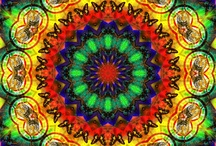 ♥kaleidoscope♥ / These colorful images are like peering through a kaleidoscope. / by Catrina Waters