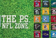 P.S. NFL Zone 2013 / GET IN THE GAME! Find your team, show your spirit. / by p.s. from aéropostale