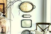 Mom's silver trays / by Wendy Rozee DEntremont