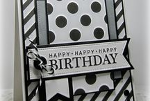 Black and White cards / by Lisa Mendoza