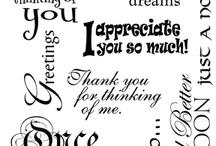 card sayings / by Kathy Breckenridge
