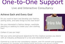 Consultancy / Live and interactive consultancy with Colleen G Lea, founder of www.fashionsewingblog.com / by Fashion Sewing Blog
