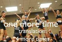 Cheering!!! <3 / by Regan Knott