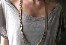 jewelry and chains / by Niki Stylianou