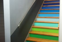 Home... stairs / by Julie Normand