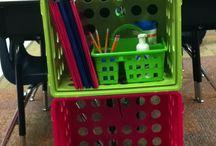 Classroom ideas (set up/ organization) / by Tina Doddridge