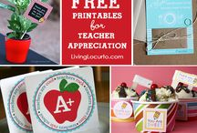 Teacher appreciation gifts / by Susan Plant