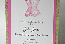 Bachelorette Party Ideas / How do you celebrate a Bachelorette Party? Here are some ideas for food and drink, invitations, favors, activities, and gifts for the bride-to-be. (Items featuring male anatomy completely optional.) / by GCDSpa - Emily Caswell