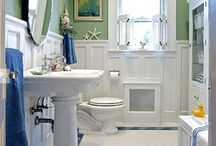 bathroom ideas / by Mommysquared S