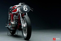 Bikes Cafe Racers / by Pano Stamatiadis