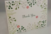 Cards - Thank You / by Cindy Gitto-Wilson