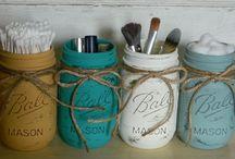 Mason Jar ideas / by Dianne Kartes
