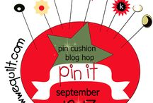 PIN It pin cushion blog hop / Ohhhh PIN cushions will be our theme and focus for this one....Kristen will be cheering us all on... YOU can find her here http://meadowbrook-kristen.blogspot.ca  / by Mdm Samm ...