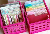 Craft Organizing / by Marsha Whitmire