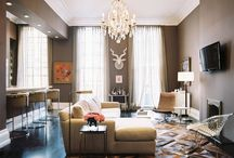 Interiors - Living Spaces / by Karie Heathcoat-Kieffer