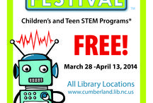Science Festival / March 28 - April 13, 2014 / by Cumberland County Public Library