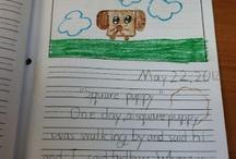 Writing / by Amanda Tervoort (First Grade Garden)