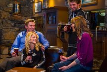 Apres- eats and drinks / Pubs, gourmet fare, and fireside treats! / by Sunshine Village