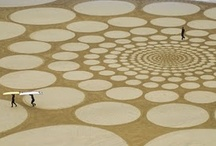 Land Art / Monumental drawings in the sand by Jim Denevan / by Nanette Johnson | eunèv