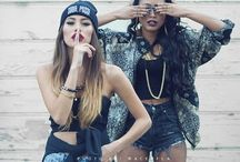 Girls Street Wear / Girls street wear fashion. / by Jamila Paris