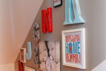 Personal GALLERY Walls / How to display multiple pictures and artwork on the same wall. / by Reine Sora