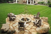 Outdoor living space / by Casey Bly