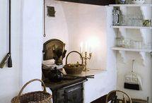 fogões , lareiras,churrasqueiras e fornos / by Elisabete DE  Oliveira