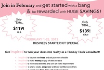 Tomboy Tools Specials / by Kyla Allenback