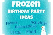 Frozen Birthday / by Rebecca Wolfe