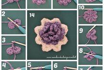 CROCHET FLOWERS / by Chari Cosenubes