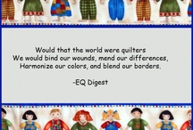 International Quilters / Quilting and other cool crafts / by Laurie Cameron