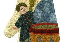 rug hooking / by Chryl Kaisler