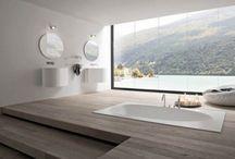 The bathroom / by Polon Tong