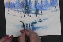 to create and make art - video / by Margaret Glenski