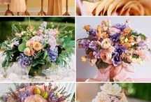Wedding color schemes / by Deila Caballero