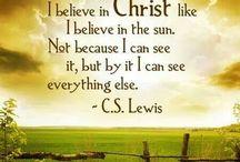 C.S. Lewis Quotes / by Sandra Brooks McCravy