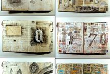 Art - Journals & Sketchbooks / Art journals, sketchbooks,and related stuff / by Marian Savill