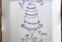 signature platters/wedding / by Joan Clasbey