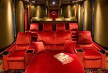 Home Theatre/Media Layouts / by Angel Barajas-Fossett