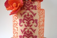 Wedding: in the name of coral / by Ellen Bartlett (Cakes to Remember)
