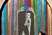 Street art. / by Ashley Sturtz