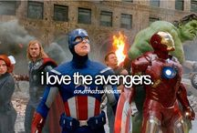 Marvel Universe / All Avengers, all the time / by Leah Jones