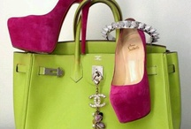 Shoes ∞∞ And ∞∞ Bags  / by Wanda SemiRetired Gibson
