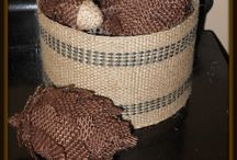 Burlap DIY's / Projects made with burlap / by Cindi Bisson