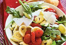 food - pasta / by Christine Higgins Tetzlaff