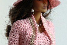 Crochet & Knitting - Dolls  & Clothing / by Amanda Nel