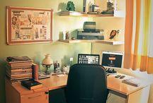corner Desk ideas / by Andrea Lum