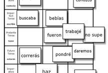 Spanish Verb Games / by Aubrie Lehr