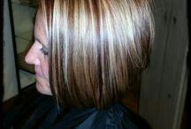 Anne @wildrootssalem WI hair portfolio / by Anne Brunner